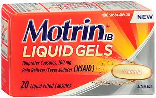 MOTRIN IB LIQ GEL 20