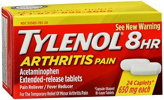 TYLENOL ARTHRITIS 8HR CPLT 24
