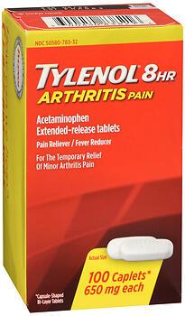 TYLENOL ARTHRITIS 8HR CPLT100