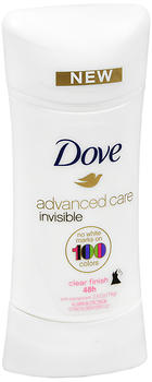 DOVE DEO CLEAR FINISH 2.6 OZ
