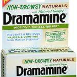 DRAMAMINE N-D NAT W/GNGR 18CT