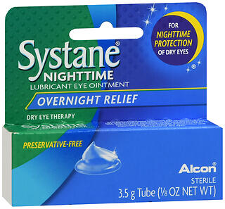 SYSTANE NIGHT OINT    3.5GM