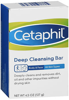 CETAPHIL DP CLENSE BAR 4.5OZ