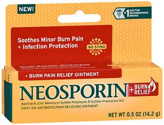 NEOSPORIN BURN RLF OINT 0.5OZ
