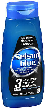 SELSUN BLUE 3N1 11OZ