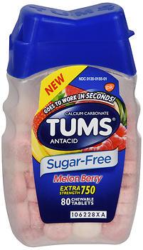 TUMS S/F MELON BERRY TB 80