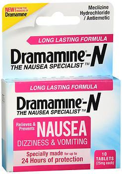 DRAMAMINE L/L NAUSEA 10/24HR