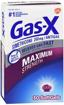 GAS-X MAXIMUM STRENGTH 30 SG