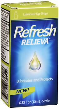 REFRESH RELIEVA DROPS 10ML